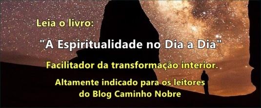 Leia livro espiritualista A Espiritualidade no Dia a Dia